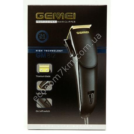 GM812 Машинка для стрижки волос Gemei