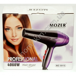 MZ-5915 Фен для волос MOZER 4000W