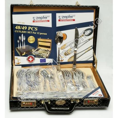 ZPT-1001 Подарочный набор столовых приборов Zepter (49 шт.)