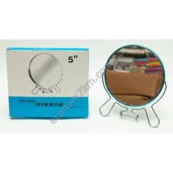 """S1410 Зеркало на мет двухстороная с увеличением 5"""" AC13-5"""