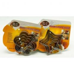 S1488 Набор ножей для теста печенье N146 (5шт. в уп.) (цена за упаковку)