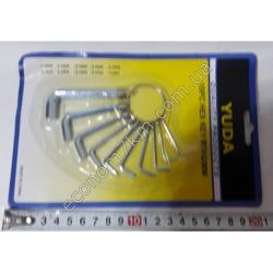 S1870 Набор 6ти гранных ключей