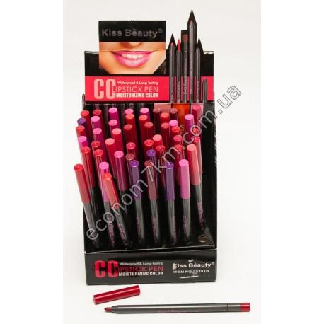 i63 карандаш для губ матовый.в укаковке 48 шт.(цена за упаковку)