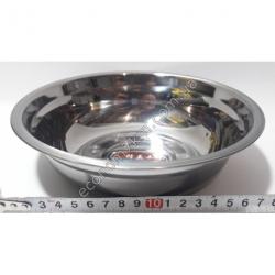 S2008 Миска железная из нержавейки АВГ (диаметр 20 см, высота 6 см)