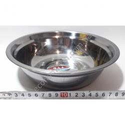S2009 Миска железная из нержавейки АВГ (диаметр 22 см, высота 7 см)