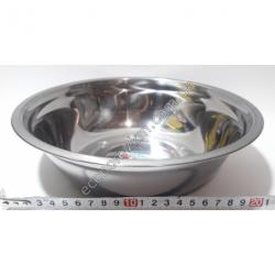 S2010 Миска железная из нержавейки АВГ (диаметр 24 см, высота 7 см)