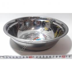 S2011 Миска железная из нержавейки АВГ (диаметр 26 см, высота 7 см)