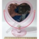 S2018 Зеркало Сердце с подставкой АВГ (4) (11 х 12 см)