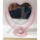 S2019 Зеркало Сердце с подставкой АВГ (5) (13 х 13 см)