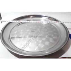 S2030 Поднос нержавейка (диаметр 35 см) АВГ