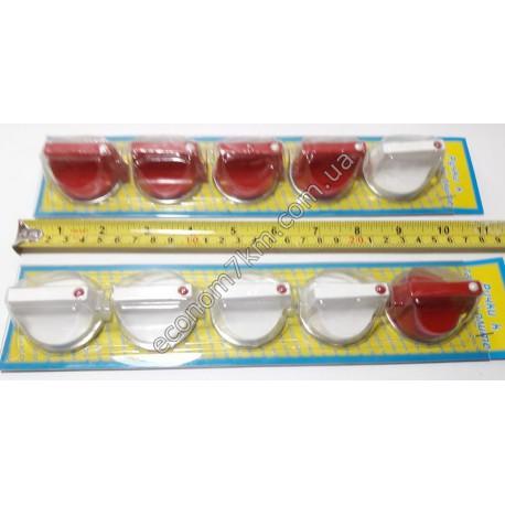 S216 Набор ручек для газовой плиты 5 шт.на листе(цена за упаковку) .)