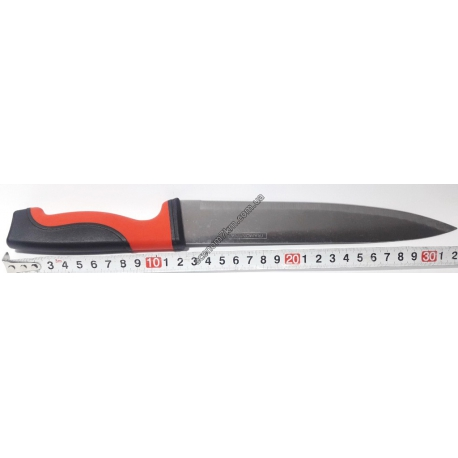 "S1784W Нож красн. чёрн. 4"" (32 см) АВ."