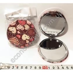 S1834 М7 Зеркало карманное с Сердечком