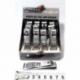 S1838 М12 Кусачки для ногтей ж.м. 6.5 см (12 шт. в уп.) (цена за упаковку)