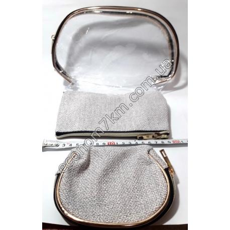S1842 S6 Набор косметичек 3 шт. (26х16 см, 20х13 см, 15х12 см) (цена за набор)