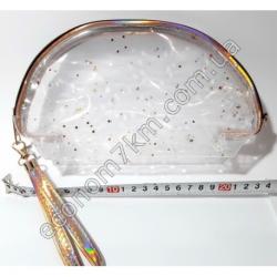 S1847 S11 Косметичка прозрачная (23 х 14 х 7 см)