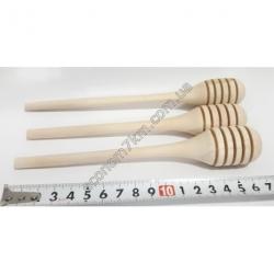 S2060 Ложка для мёда дерево (17 см)