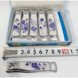 S2085 Кусачки для ногтей цветочек А. (12 шт. в уп.) (цена за упаковку)