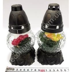 S2100 Лампадка цветок с подставкой (горит 12 часов) (15 шт. в уп.) (цена за упаковку)