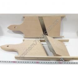 S2138 Шинковка для капусты деревянная (40 х 14,5 см) (широкая)