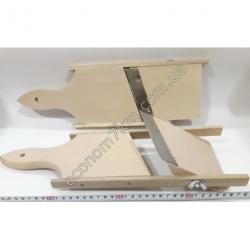S2139 Шинковка для капусты деревянная (40 х 12,5 см) (узкая)