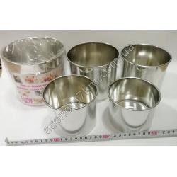 S2150 Набор пасххальных форм (5 шт.) (1.7 л + 1.25 л + 1 л + 0.75 л + 0.55 л)