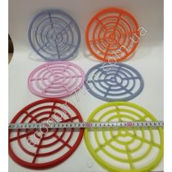 S2169 Подставка под горячее (пластик с болтиками) (19 см диаметр)