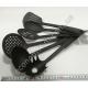 S2177 Набор для тефлоновой посуды (6 предметов) кухонный чёрный (30 см)
