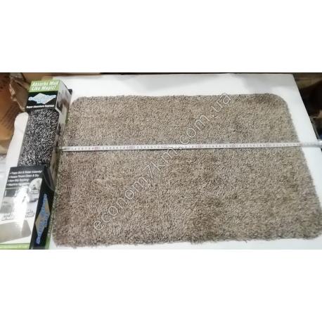 S2197 Коврик в ванную микрофибра с резинкой внизу (70 х 45 см) 2 расцветки