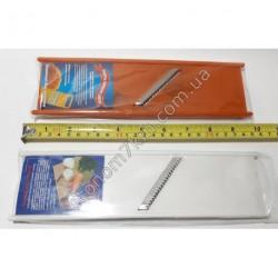 S297 Корейка пластик 1 нож.узкая.