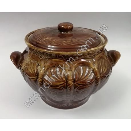 S2255 Жаровня Корона (3,7 л) керамика