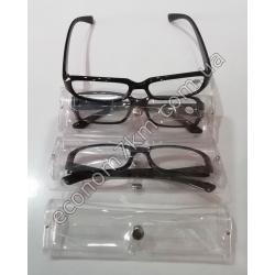 S2265 Очки для зрения (от 1 до 3.5) в силиконовом чехле.