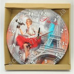 S2290 Часы настенные Париж Вах