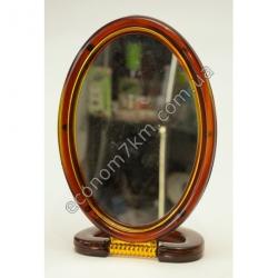 """S2327 Зеркало на подставке коричневое 6"""" Вах"""