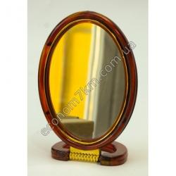 """S2328 Зеркало на подставке коричневое 5"""" Вах"""