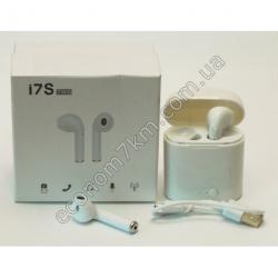 S2356 Аудио наушники беспроводные i7S TWS Вах
