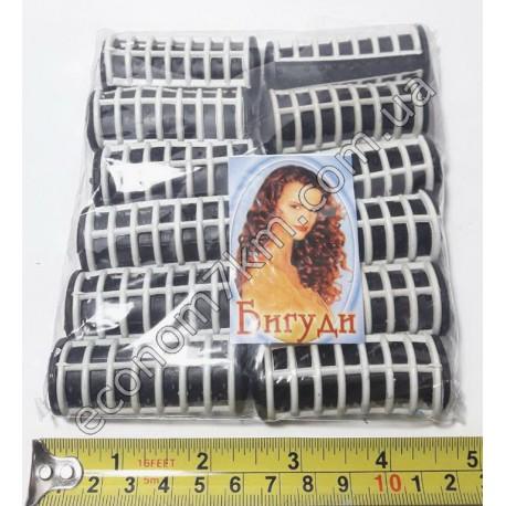 S324 Бигуди для волос термо( 5*2.5 с) в упаковке 12 шт. . М(цена за упаковку)