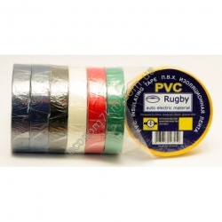 S2422 Изолента цветная Rugby PVC (0,13 мм - 19 мм - 50 м) Вах