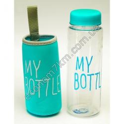 S2439 Бутылка спортивная MY BOTTLE с чехлом Вах