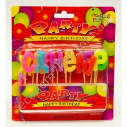 S2449 Свечи в торт PARTY Вах