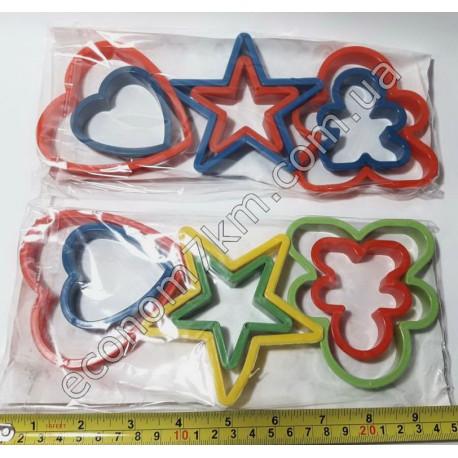 S332 Формы для печенья звезда (цена за упаковку)