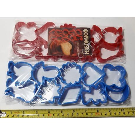 S334 Формы для печенья 10 шт миша (цена за упаковку)