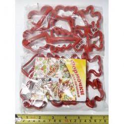 S335 Формы для печенья с руч. 6 шт(цена за упаковку)