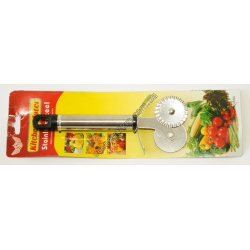 S2521 Нож для теста.. Пицца. Двойной. Kitchen Mater Вах
