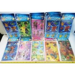 S3023 Наклейки детские 3D (цена за лист) (20 х 12 см) Жен.
