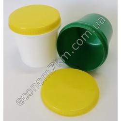 S3105 Судочек круглый цветной (винтовая крышка) (9 х 10 см) 0,5 л
