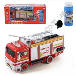S3210 Игровой набор пожарной техники с мыльными пузырями B928A-36