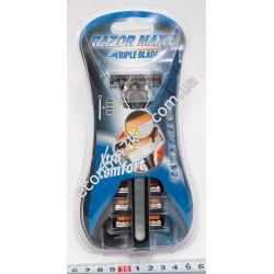 S3345 Станок для бритья + сменные кассеты RAZOR MAX 3 (3 лезвия)