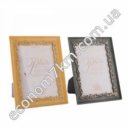 S267 Рамка для фото ажур со стеклом (15 х 20 см)