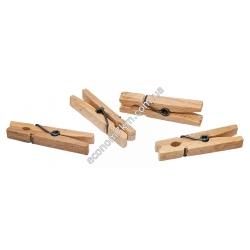 S165 Набор прищепок деревянных (20 шт. в упаковке) (цена за упаковку)